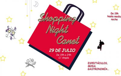 No te pierdas la Shopping Night Canet 2017